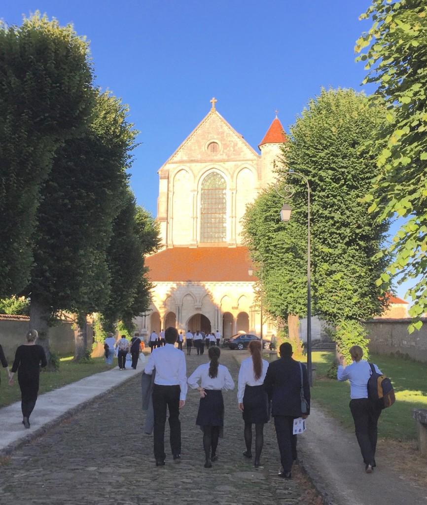 20160710 Pontigny Messe